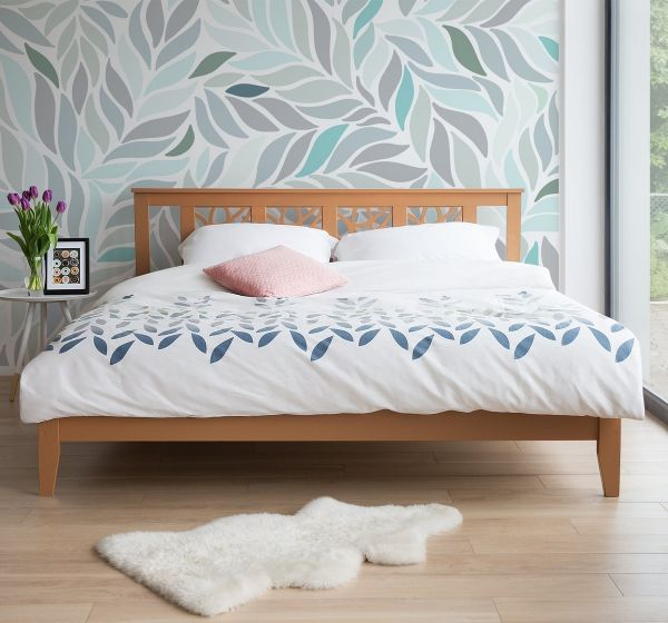 Calas Wooden Bed - Super Kingsize