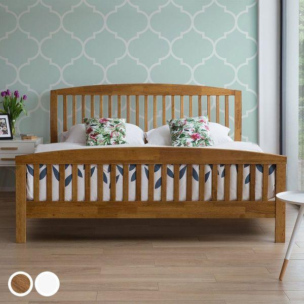 Catri Wooden Bed - Kingsize & Super Kingsize