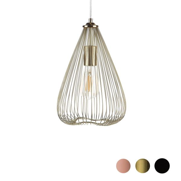 Concat Metal Pendant Lamp - 3 Colours