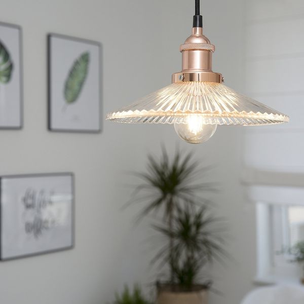 Curona Glass Pendant Lamp