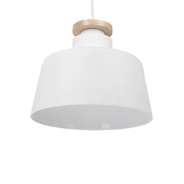 Danu Light Aluminium Pendant Lamp - White