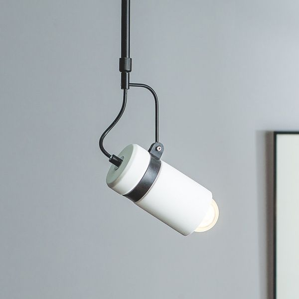 Orca Gypsum Pendant Lamp - White