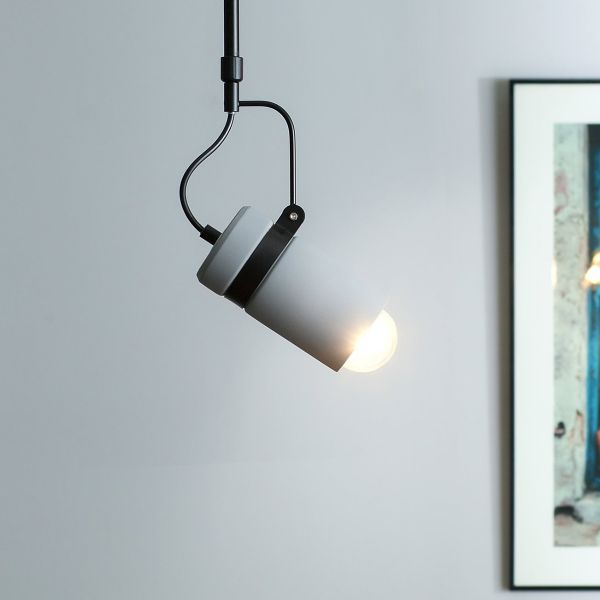 Orca Concrete Pendant Lamp - Grey