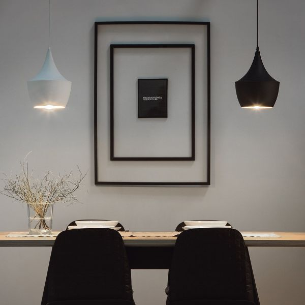 Frase Metal Pendant Lamp - 2 Colours