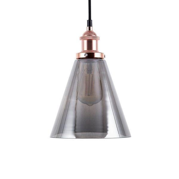 Enzo Small Glass Pendant Lamp