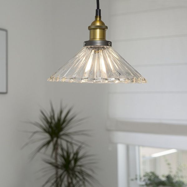 Colorads Transparent Glass Pendant Lamp