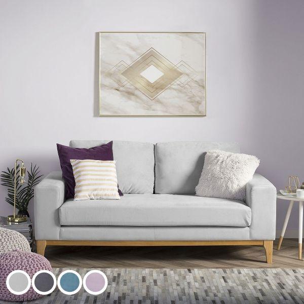 Tinan Velvet Sofa with 2 Seater - 4 Colours