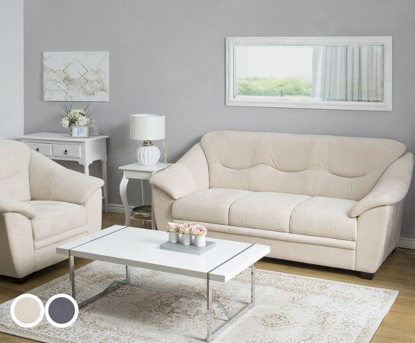Stavan Fabric Living Room Set - Beige or Grey
