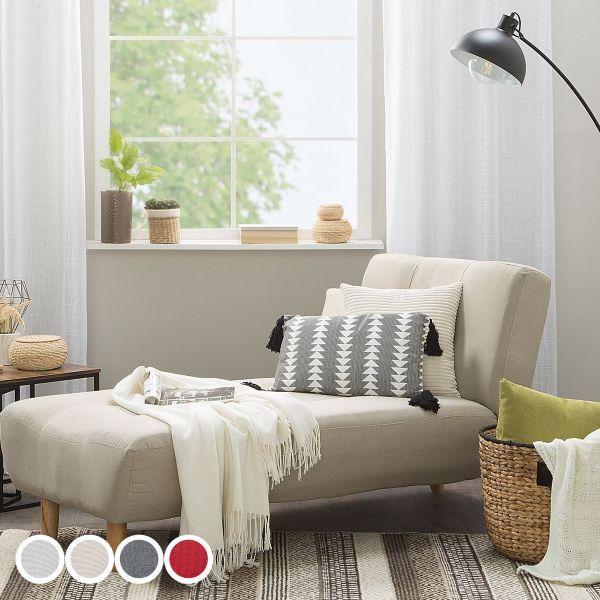 Alton Fabric Chaise Longue - 4 Colours