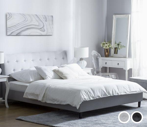 Savern Fabric Bed - 3 Sizes