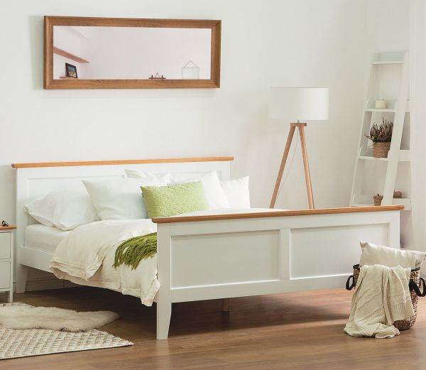 Oliv ll Wooden Bed - Super Kingsize