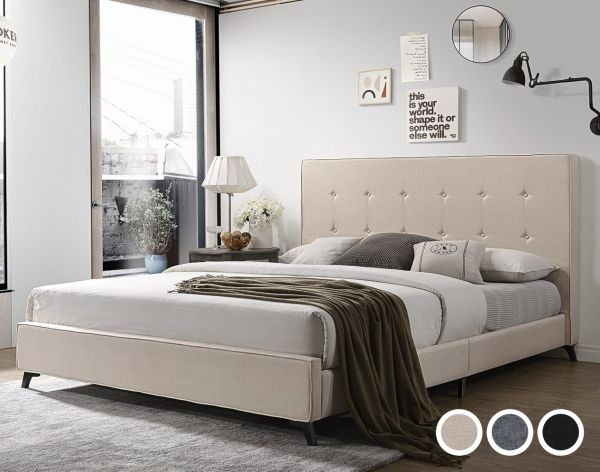 Embesador Fabric Bed - 4 Sizes