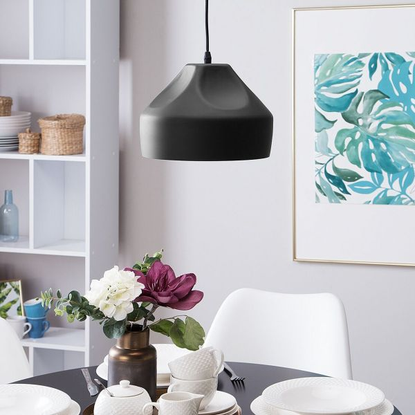 Evinas Metal Pendant Lamp - Black