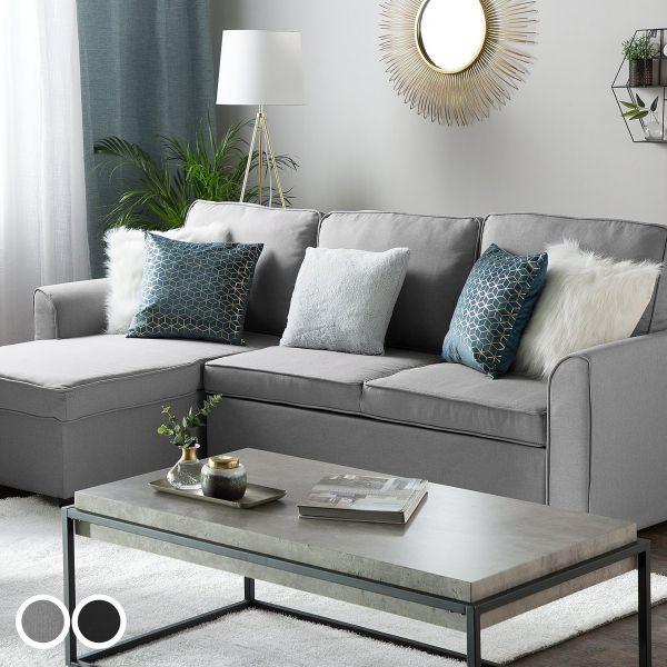 Nena Fabric Corner Sofa Bed with Storage - 3 Colours