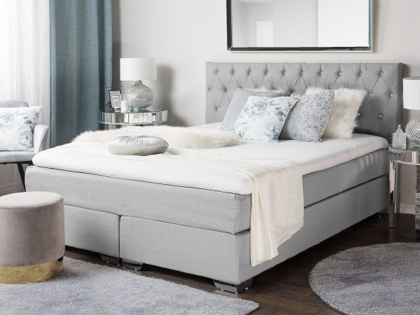 Duches Fabric Divan Bed - Kingsize & Super Kingsize