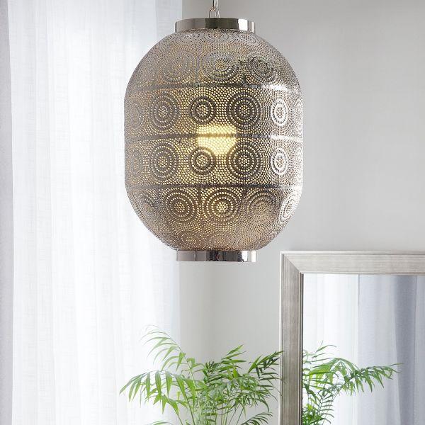 Morenge Metal Pendant Lamp - Silver