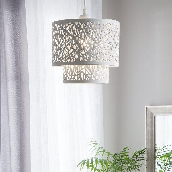 Sanage Metal Pendant Lamp - White