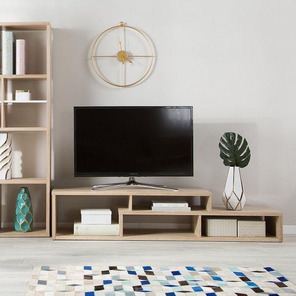 Prata TV Stand Scandinavian - Light Wood