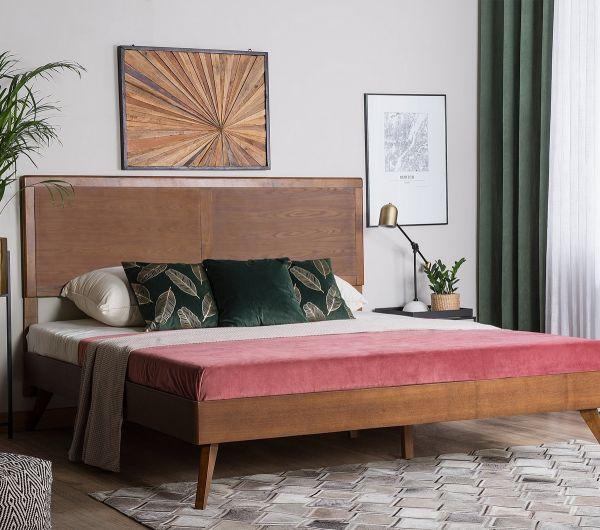 Ystris Wooden Bed - Kingsize & Super Kingsize