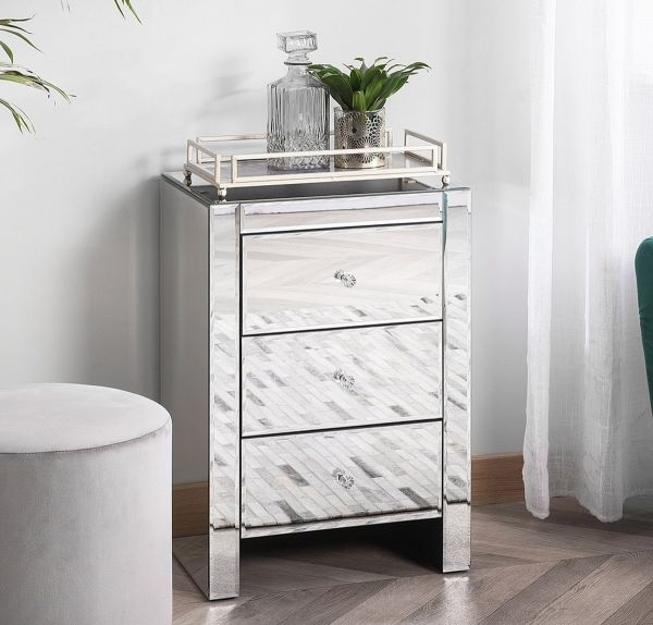 Lores Chest of Drawers - Mirrored