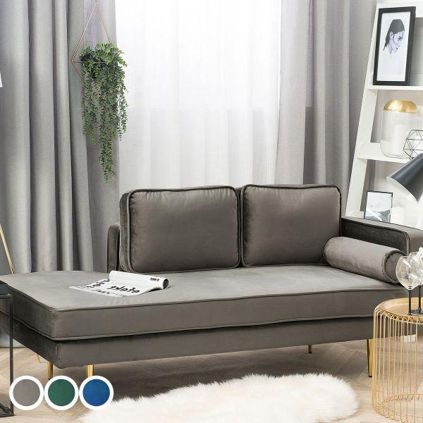 Mirenas Velvet Chaise Longue - 3 Colours