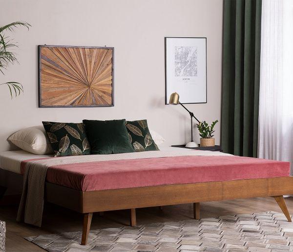 Birec Wooden Bed - Kingsize & Super Kingsize