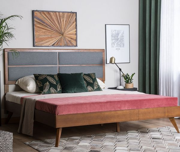 Poys Wooden Bed - Kingsize & Super Kingsize