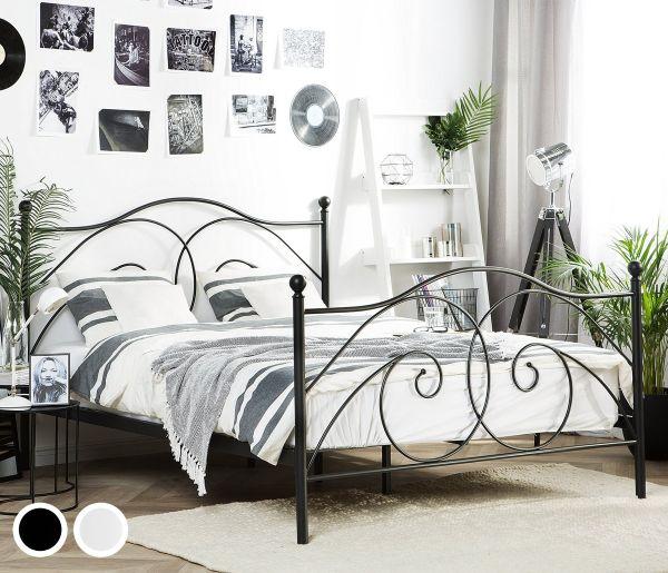 Dani Metal Bed - 2 Sizes & Colours