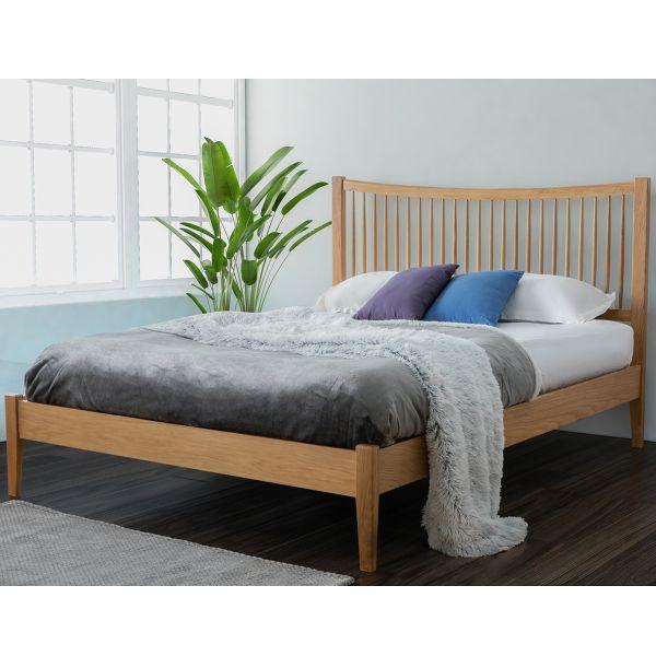 Birlea Berwick Oak Bed - Double or King