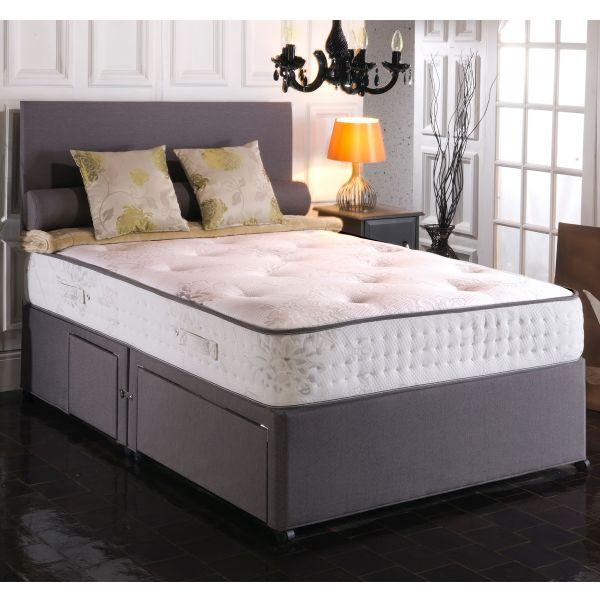 Vogue Windsor 1000 Pocket BluCool Memory Foam Divan Bed 5FT King