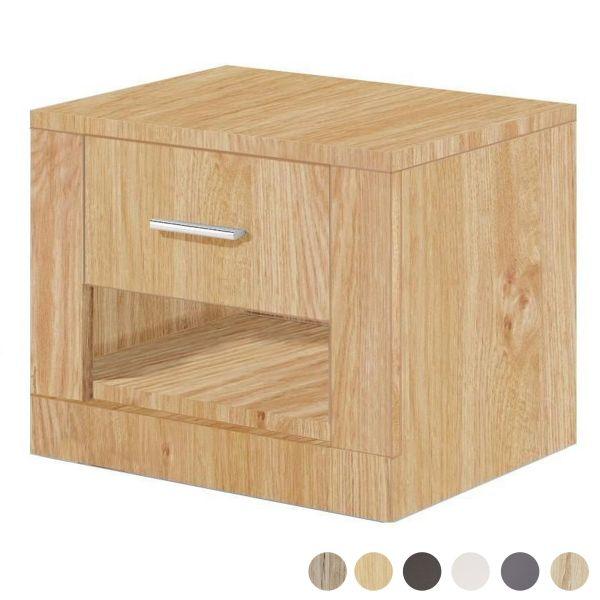 Artisan 1 Drawer Bedside Table - 6 Colours
