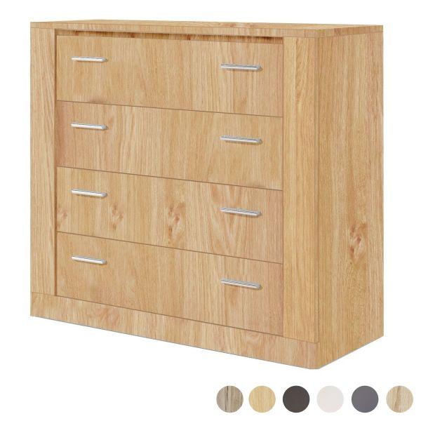 Artisan 4 Drawer Storage Chest - 6 Colours