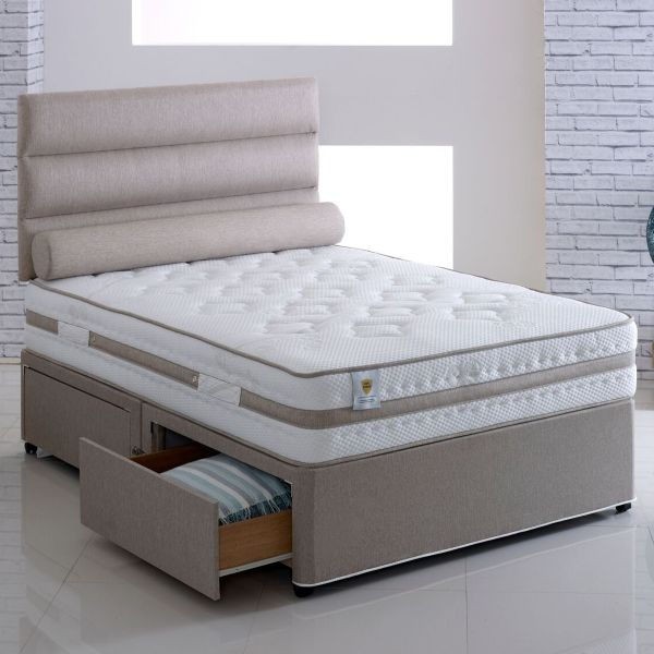 Vogue Grace Orthopaedic Sprung Airstream Divan Bed 5FT King