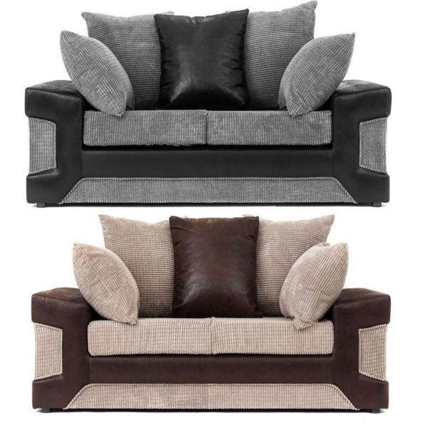 Denzel 2-Seat Cord Fabric Sofa