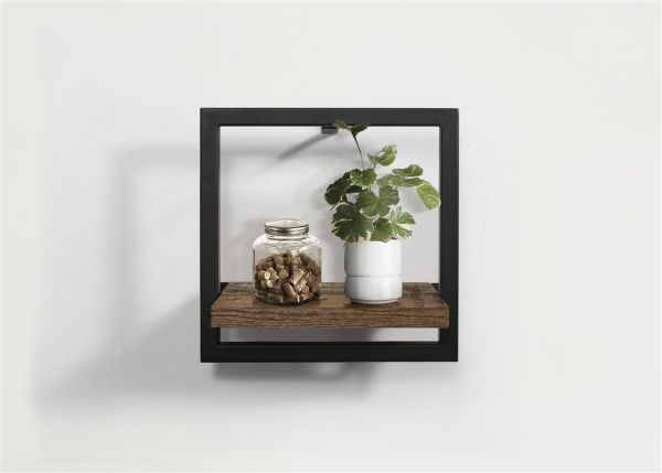 Birlea Urban Rustic Small Floating Wall Shelf
