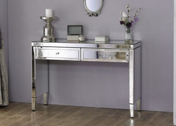 Birlea Valencia Mirrored 2-Drawer Sideboard