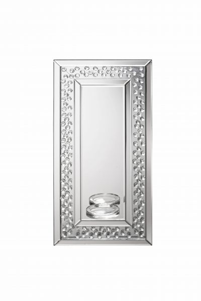 LPD Valentina Mirrored Rectangle Sconce Mirror