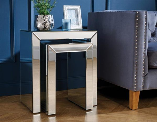 Birlea Valencia Mirrored Nest of Tables