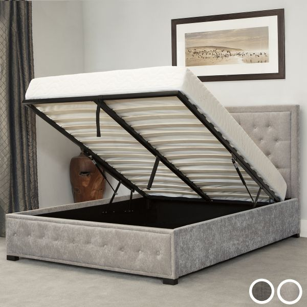 Albany Fabric Ottoman Bed Frame - King or Super King