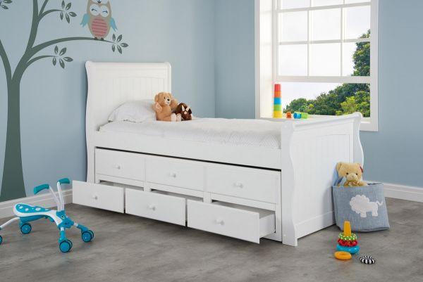 Birlea Verona White Cabin Bed