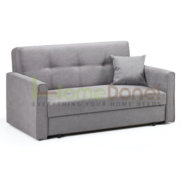 Vive Fabric 2 Seater Sofabed - Grey