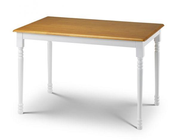 Julian Bowen Oslo White Oak Dining Table