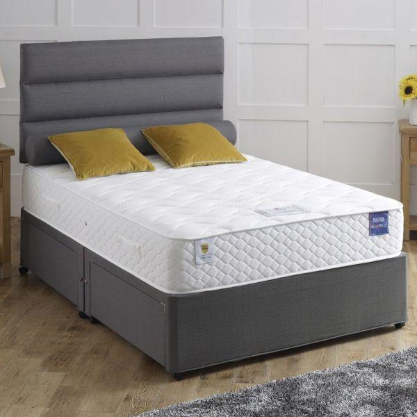 Vogue Rapture 1000 Pocket Divan Bed 6FT Super King