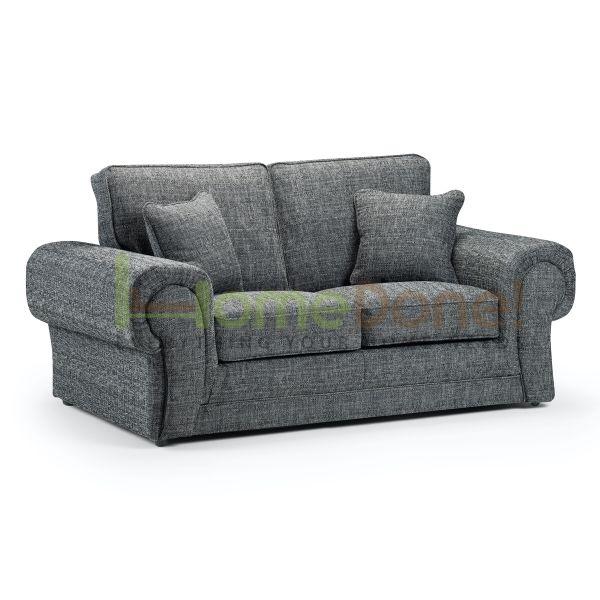 Wilco Fabric 2 Seater Sofa - Grey