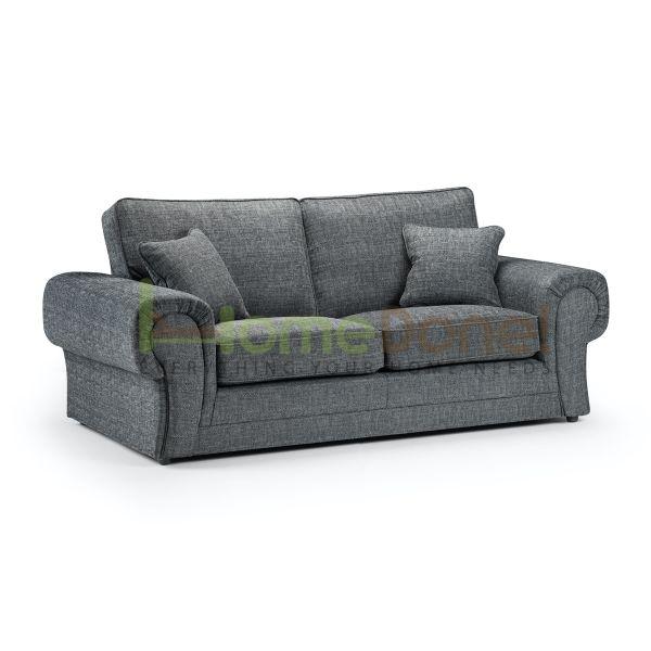 Wilco Fabric 3 Seater Sofa - Grey