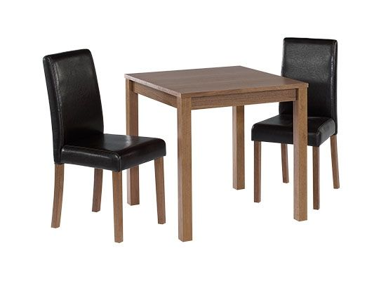 LPD Brompton Small Dining Table - Walnut