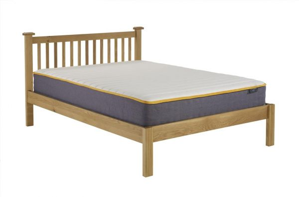 Birlea Woburn Oak Bed Frame - Double and Kingsize