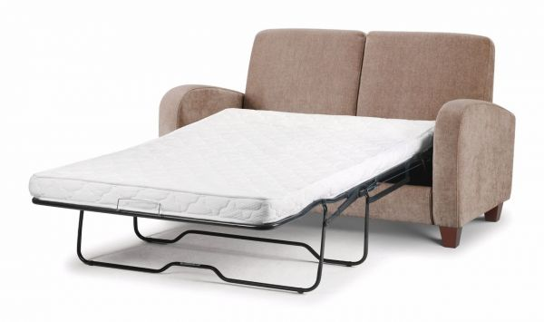 Julian Bowen Vivo Mink Chenille Fabric Sofa Bed