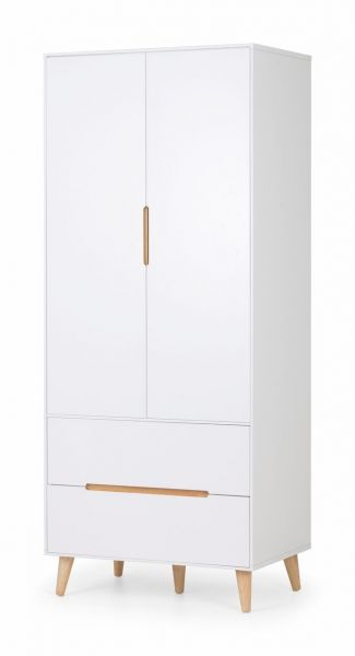 Julian Bowen Alicia 2-Door 2-Drawer Wardrobe