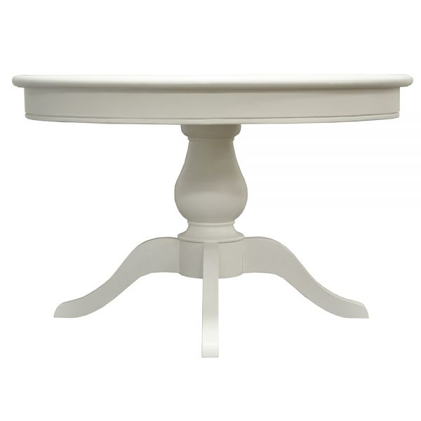 Avast Round Dining Table - Antique White